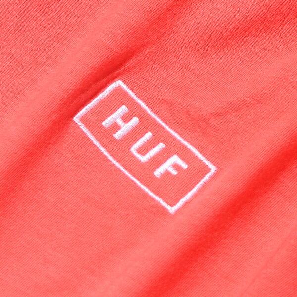HUFGRADIENTDIPDYEBARLOGOTEE(ハフグラディエントディップダイバーロゴティー)(2色展開)【メンズ】【半袖】【17FA-I】