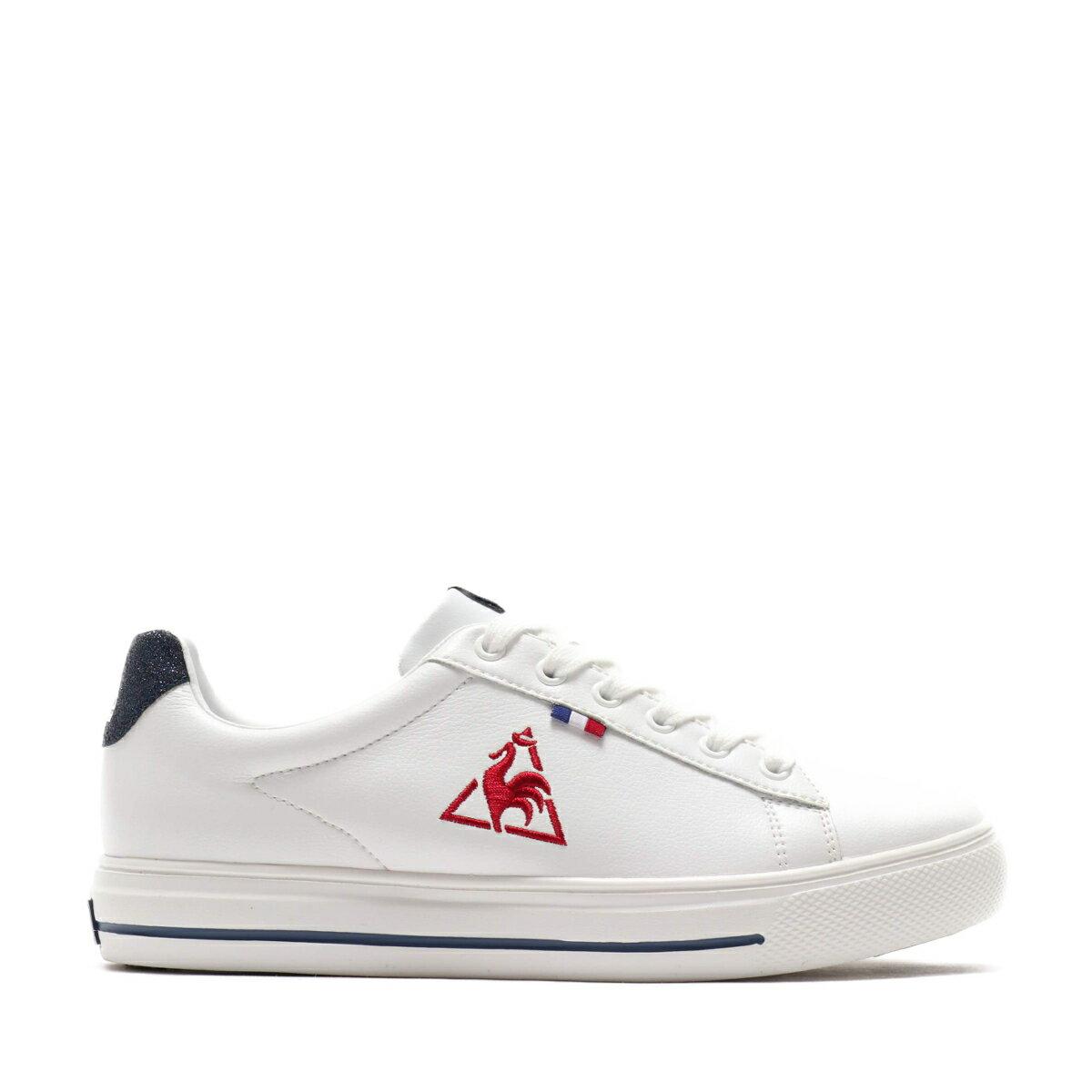 メンズ靴, スニーカー le coq sportif TELUNA BOUND COURT LE AT(WHITE)( )20SS-I