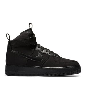 NIKE AIR FORCE 1 HIGH '07 CANVAS(BLACK/BLACK-ANTHRACITE)(ナイキ エア フォース 1 ハイ 07 キャンバス)【メンズ】【スニーカー】【20】【sale0123】【18SP-I】