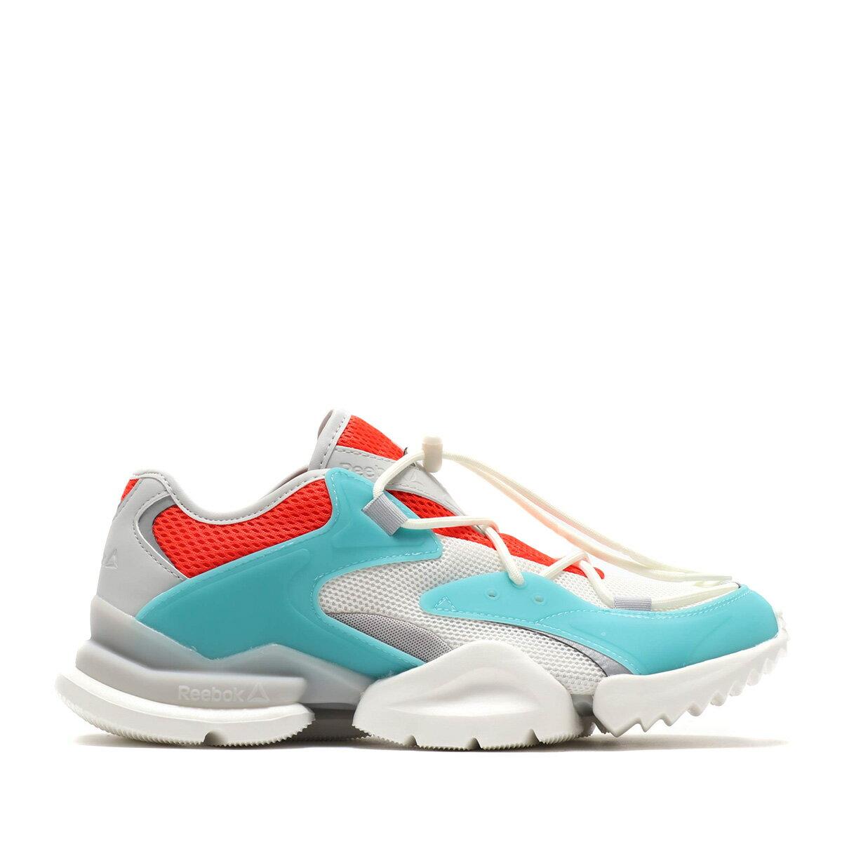 メンズ靴, スニーカー Reebok RUN R96(CHALKMISTCAROTENEGREY)( R96)19SS-I