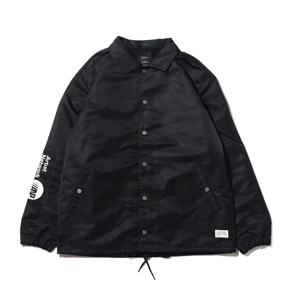 メンズファッション, コート・ジャケット RVCA PATCH JACKET(BLACK)( )19FA-I