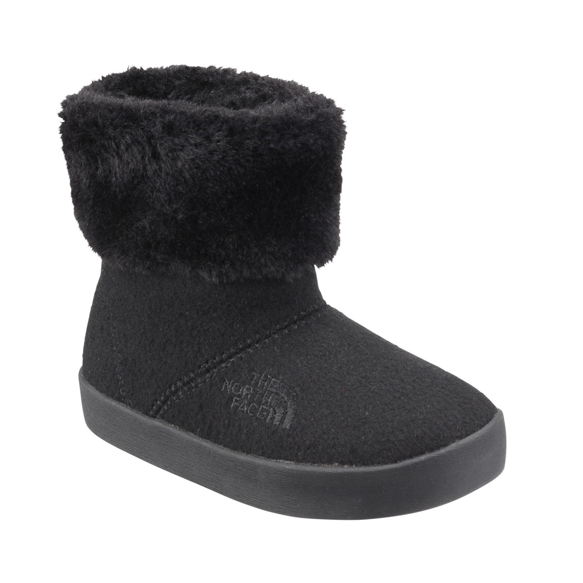 靴, ブーツ THE NORTH FACE K WINTER WOOL CAMP BOOTIE(KKTNF)( )18FW-I