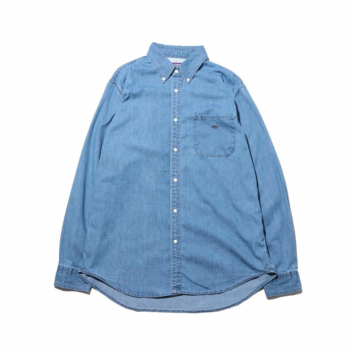 トップス, カジュアルシャツ THE NORTH FACE PURPLE LABEL Light Denim B.D. Shirt(INDIGO)( )20SS-I