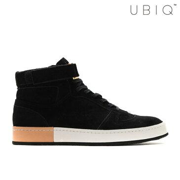 UBIQ VAGET J(ユービック バジェット J)(BLACK)【Kinetics】【日本製】【メイド・イン・ジャパン】【レザー】【メンズサイズ】【大人】【スニーカー】【ストリート】16SU-I