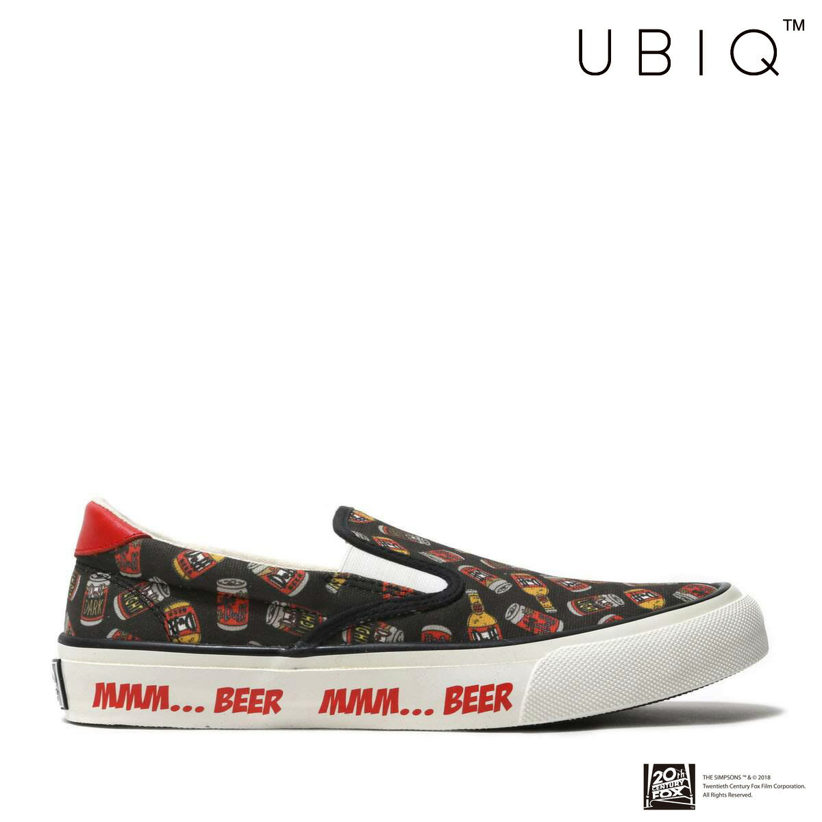 メンズ靴, スニーカー UBIQ HOGGE SIMPSONS(DUFF BEER)( )18SS-I