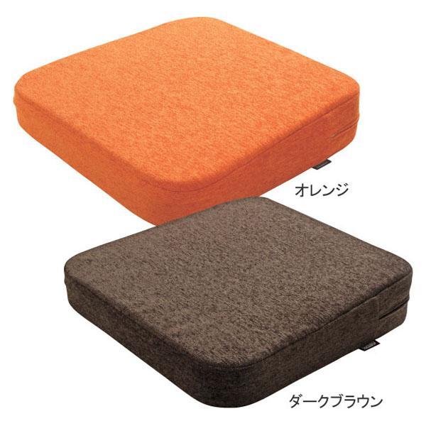 【送料無料】ソルボらく楽座マット 66003 ダークブラウン 人工筋肉クッション 高弾性 高密度