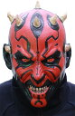 ハロウィン あす楽!!【送料無料】なりきりマスク ダースモール ラバーマスク STAR WARS Darth Maul マスク