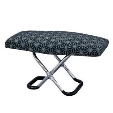 あす楽!!【送料無料】楽珍正座椅子 コンパクト 折畳 携帯用 軽量 正座椅子