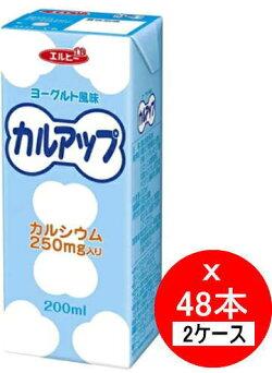 【2ケースセット販売】エルビーカルアップ200mlx48本