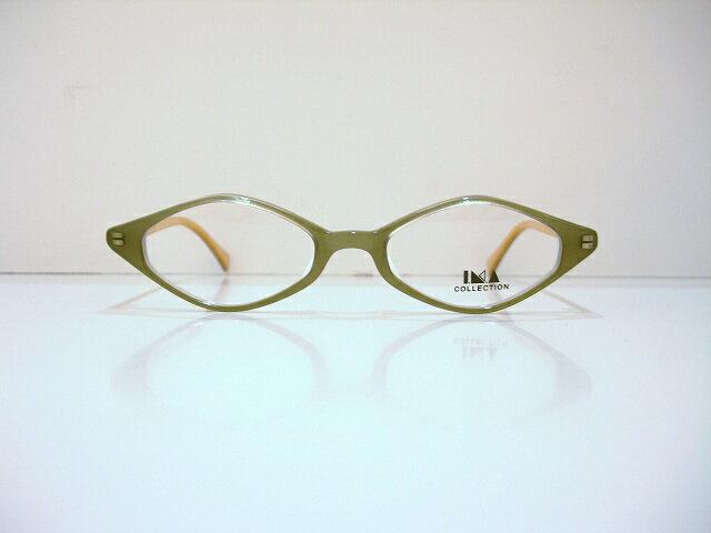 IMA COLLECTION(イマコレクション)3-8 col.20メガネフレーム新品ひし形ヴィンテージめがね眼鏡