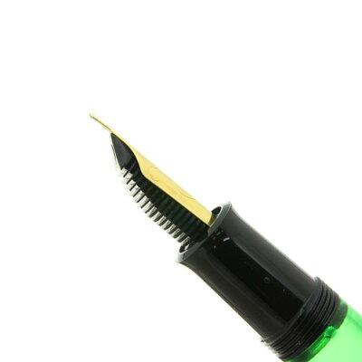 【】【良品】Pelikanペリカン万年筆M120グリーンブラックEF【[SAS]対象】【smtb-f】【ポイント2倍!】