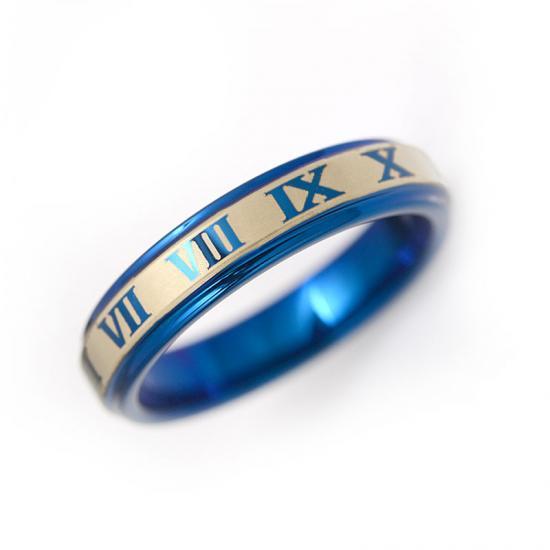 メンズジュエリー・アクセサリー, 指輪・リング  4mmPVD 521