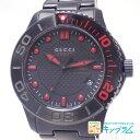 グッチ GUCCI YA126230 Gタイムレス ブラック アウトレット クオーツ メンズ 腕時計 ec 【中古】