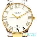 ティファニー Tiffany&Co アトラスドーム コンビ Z1830.68.15A21A00A アウトレット 自動巻き レディース 腕時計 ec 【中古】