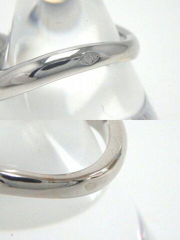 【2金】シャネルCHANELK18WG750マドモアゼルリング7号アメジストダイヤモンドサファイア指輪#47fc【】