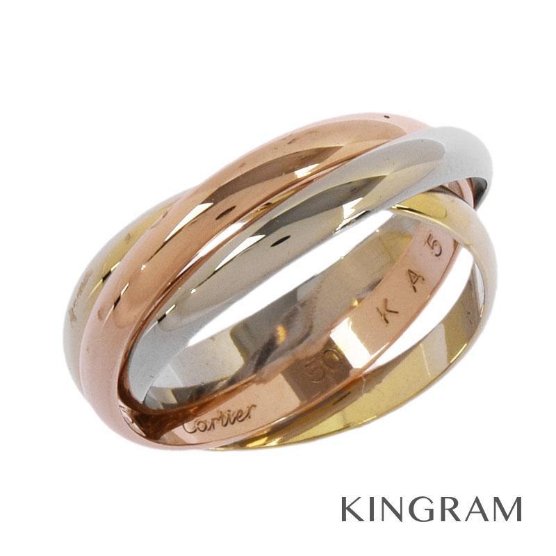 レディースジュエリー・アクセサリー, 指輪・リング  CARTIER K18YG 750 50 ku