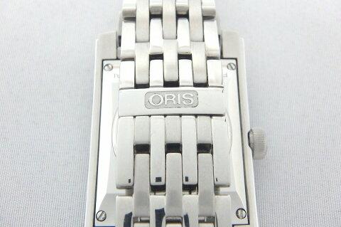 【4金】オリスORISレクタンギュラー56176514061Mレディース自動巻時計mi【】