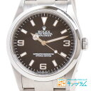 ロレックス ROLEX エクスプローラー 1 114270 K番 黒文字盤 自動巻き メンズ 腕時計 tu [中古]