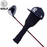 ニューエラ ゴルフ NEW ERA GOLF New Era Head Cover ニューヨーク ヤンキース ヘッドカバー ドライバー ネイビー 11225881