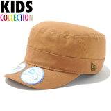 ニューエラ キッズ NEW ERA Kid's WM-01 Adiustable ワークキャップ 帽子 子供用 11117993 タン モスブラウンロゴ