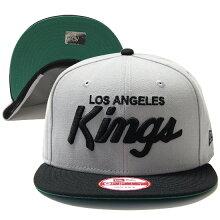 NEWERA(ニューエラ)より、NHLの人気チーム、ロサンゼルスキングスのスナップバックキャップ