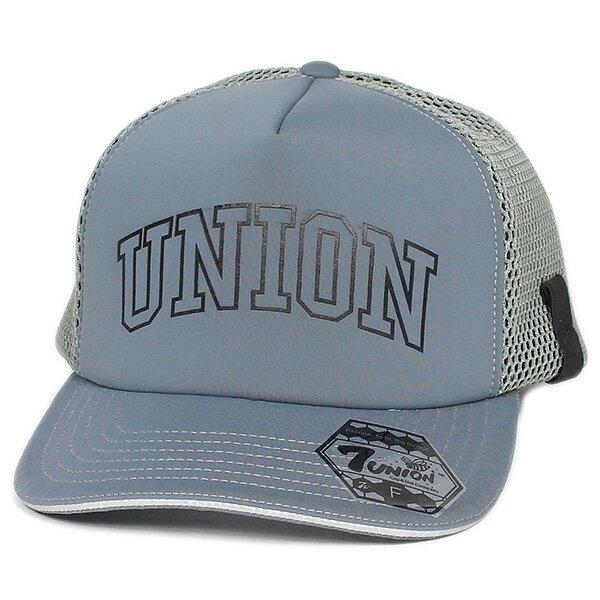 メンズ帽子, キャップ 7 7UNION Union Mesh Cap IPVW-125 GREY