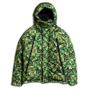 【即日発送】アップルバム ジャケット APPLEBUM x CHOP ROLL SLOW BURN Collaboration Pixel Innercotton Hood Jacket C1820601
