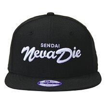 """NEWERA(ニューエラ)より、別注キャップの中でも高い人気を誇る、""""SendaiNevaDie(仙台は死なない)""""のキッズスナップバックキャップ"""