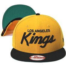 NEWERA(ニューエラ)より、KINGS別注カラーのLOSANGELESKINGSスナップバックキャップ