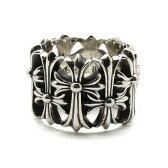 クロムハ—ツ リング CHROME HEARTS(クロムハーツ) セメタリーリング Cemetery Ring 指輪  送料無料