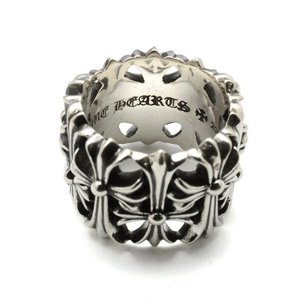 クロムハ—ツ リング CHROME HEARTS(クロムハーツ) セメタリーリング Cemetery Ring 指輪l chromehearts 正規品  誕生日 プレゼント ギフト レディース メンズ アクセサリー シルバー 925 リング ペア クロム 芸能人 愛用