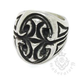 送料無料!!【円高還元】Gaboratory(ガボラトリー) Sculpted oval signet ring スカルプテ...