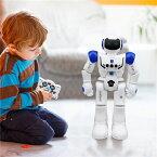 ★期間限定 ポイント6倍★ 電動ロボット おもちゃ ロボットイン ロボットおもちゃ プログラム可能 ジェスチャ制御 リモコン コントロール 多機能ロボット 歩く 滑走 音楽 ダンス 人型ロボット 電子玩具 USB充電式 クリスマスプレゼント ギフト 男の子 ラジコンロボット
