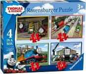 きかんしゃトーマスパズル4inaBox(Ravensburger6937ThomasundFreundePuzzle)