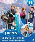 アナと雪の女王フロアーパズル