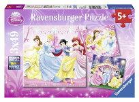 ディズニープリンセスパズル49ピース×3(DisneyPrincess/RavensburgerPuzzle)
