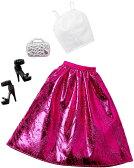バービー ファッションパック ピンクガウン/服 靴 かばん (Barbie Complete Look Fashion Pack, Pink Gown/ MATTEL/DHC57)