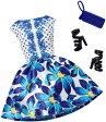 バービー ファッションパック ブルーフローラルドレス/服 靴 かばん (Barbie Complete Look Fashion Pack, Blue Floral Dress/ MATTEL/DHC58)