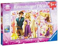 ディズニープリンセスパズル「塔の上のラプンツェル」49ピース×3(DisneyPrincess/RavensburgerPuzzle/09298)