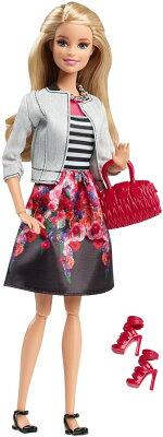 バービースタイルホワイトジャケット&ピンクスカートセット