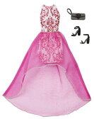 バービー ファッションパック ピンク&ホワイトドレス/服 靴 かばん (Barbie Complete Look Fashion Pack 2/ MATTEL/DMF52)
