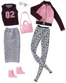 バービー ファッションパック 2着セット (ホームウェアセット)/洋服 靴 かばん サングラス (Barbie Fashions At Leisure, 2 Pack/ MATTEL/DWG41)