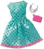 バービー ファッションパック ターコイズドレス/服 靴 かばん (Barbie Fashions Complete Look - Turquoise Dress / MATTEL/FCT33)