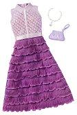 バービー ファッションパック パープルドレス/服 靴 かばん (Barbie Fashions Complete Look - Purple Dress / MATTEL/FCT34)