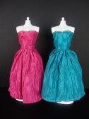 バービー 着せ替え用ドレス/服 2着セット PB1 (Set of 2 Beautiful Knee Length Dresses in Blue and Pink Made to Fit the Barbie Doll)