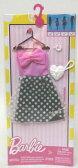 バービー ファッションパック 水玉ピンクドレス/服 靴 かばん (Barbie Fashions Complete Look - Polka Dress/ MATTEL/FCT32)