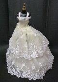 バービー 着せ替え用ドレス/服 Y2 (Yellow Gown Made to Fit Barbie Doll)