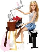 バービー ガールズミュージック ドール&プレイセット Barbie Girls Music Blonde Activity Playset/FCP73/MATTEL社/人形,ハウス)