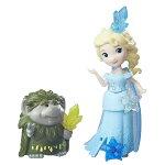 ディズニープリンセスリトルキングダムエルサ・パビーセット(アナと雪の女王/DisneyFrozenLittleKingdomElsaandGrandPabbie/Hasbro/B5185)