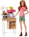 バービー 獣医師 ドールプレイセット (Barbie Zoo Doctor Playset /DVG11/MATTEL社/バービー人形ハウスペット先生)